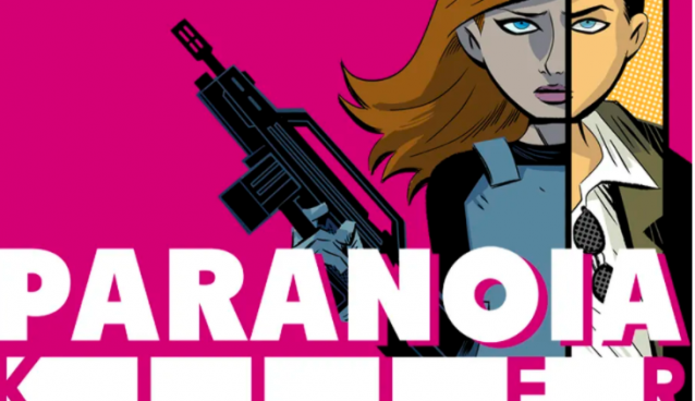 New comic Paranoia Killer is a dark thriller with an ufabet cartoon look